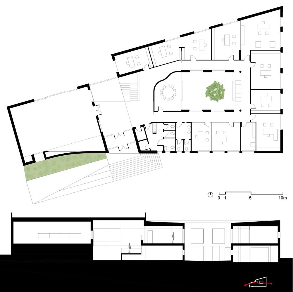 Planimetria e sezione