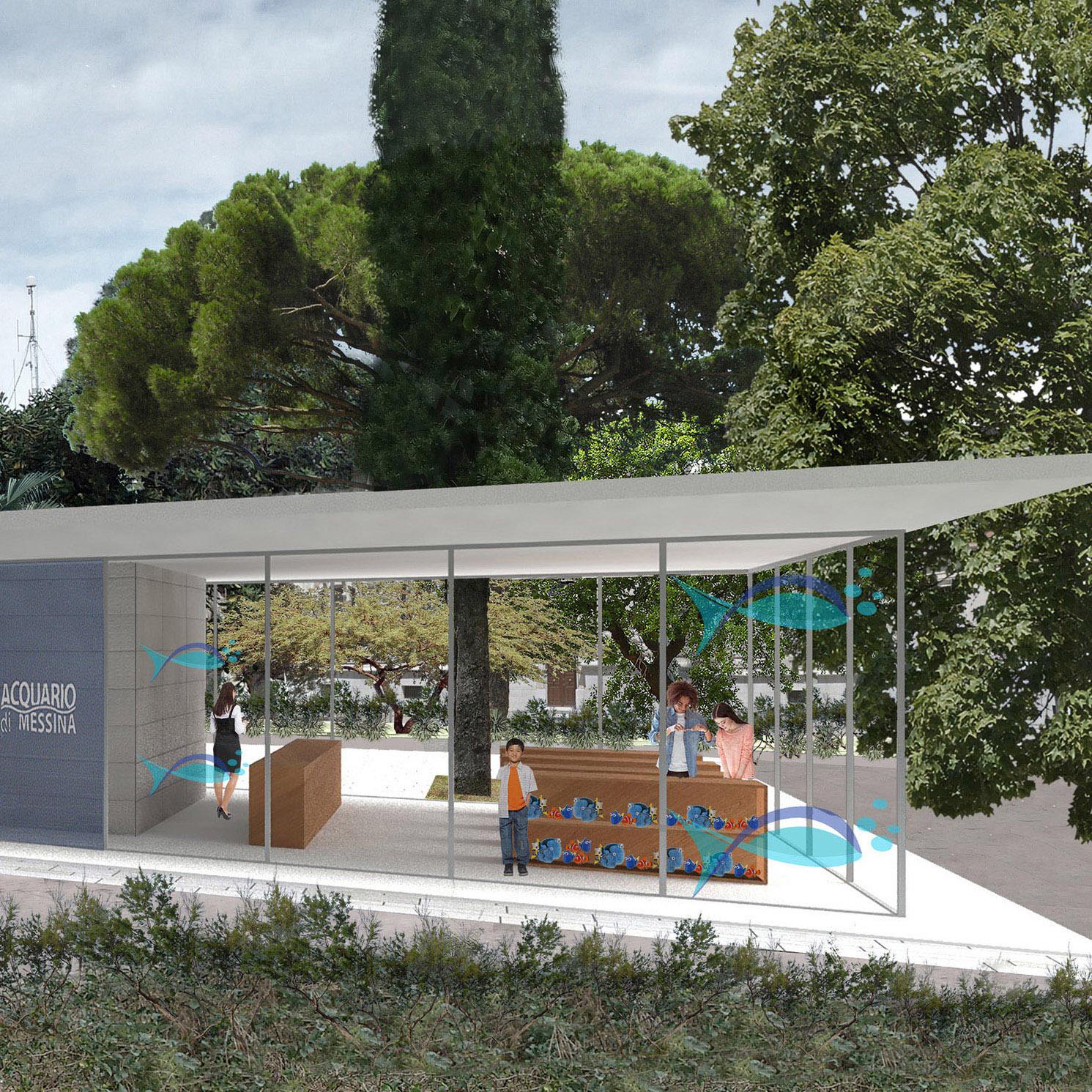 Messina. Ampliamento e riqualificazione dell'Acquario